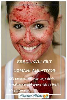 Hem pratik hem de etkili C Vitamini Maskesi Hautpflege Brezilyalı Estetisyenden C Vitamin Maskesi Pore Mask, Skin Mask, Natural Skin Care, Natural Health, Beauty Secrets, Beauty Hacks, Vitamin C Mask, Sephora, Skin Specialist