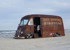 A place for Rat Rods, Odd Rods, Hot Rods, & Junkers. Cool Trucks, Big Trucks, Chevy Trucks, Vintage Vans, Vintage Trucks, Classic Trucks, Classic Cars, Step Van, Shop Truck