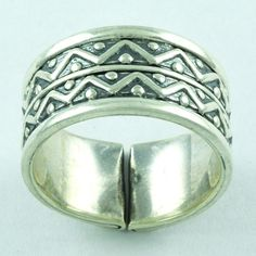 TRADITIONAL !! 925 STERLING SILVER ADJUSTABLE RING JEWELRY R2107 #SilvexImagesIndiaPvtLtd #Band