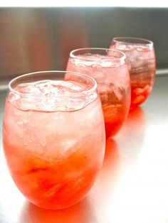 Campari-Wine Spritzers - this sounds like a lovely, summery aperitif.  An aperitif should be a light drink that gets the party started and starts the celebration.