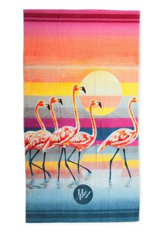 THE BAHAMAS BEACH TOWEL - I know it's a towel, but the graphic style could be useful in the future...