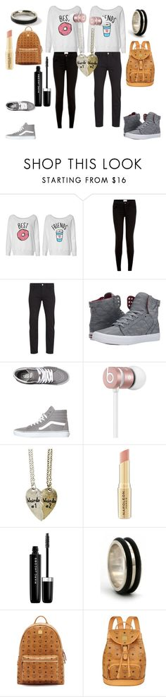 """""""Untitled #31"""" by raxmatovau ❤ liked on Polyvore featuring New Look, Paul Smith, Supra, Vans, Beats by Dr. Dre, Napoleon Perdis, Marc Jacobs, NOVICA, MCM and Topman"""