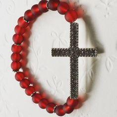 #neu #personalisierterRosenkranz  #novo #krunicasaimenom  #mojihrukudjelo #mattperlen Home Art, Symbols, Jewelry, Jewlery, Jewerly, Schmuck, Jewels, Jewelery, Fine Jewelry