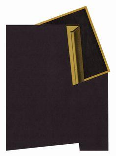 artbyjeffreymeyer:  Jeffrey Meyer, Null (36) (2015), paper collage, 9 x 12 inches | mammon | website.