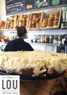 Cheesecake brownies amandes, tout bio, pour tou(te)s les gourmand(e)s ! =D