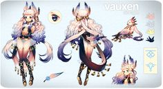 Vauxen | Adopt Auction [CLOSED] by Satchely on DeviantArt