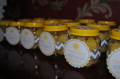 You Are My Sunshine Baby Shower-Favors http://moskemonkeybusiness.blogspot.com/2013/08/abigails-baby-shower-you-are-my-sunshine.html