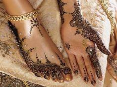 Beautiful bridal Henna.