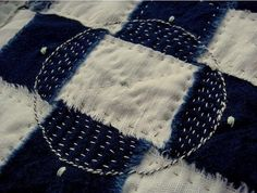 Sashiko? 'A Clearing' by Jude Hill, via Flickr