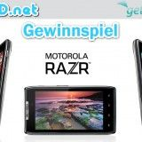Motorola RAZR-Gewinnspiel