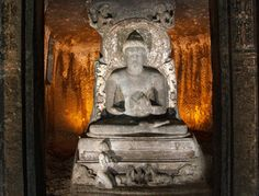 Carved Caves Ajanta, India