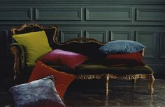 Does anyone love color as much as I do?  Yet I can't seem to bring any bold colors into my own home... hmmmm.