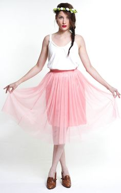 #Hudiefly                 #Skirt                    #pastel #tulle #skirt     pastel - the tulle skirt                            http://www.seapai.com/product.aspx?PID=714370