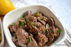 Ficatei de pui cu ceapa | Savori Urbane Romanian Food, Marsala, Beef, Dishes, German, Meat, Deutsch, German Language, Tablewares