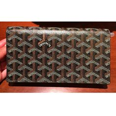 Goyard mens long wallet flap 2 folded black GOYARD - BUYMA #bagsforsale