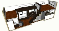Best tiny house plans Ive seen! Tiny House Plans - hOMe Architectural Plans Tiny House Closet, Tiny House Bedroom, Tiny House Storage, Best Tiny House, Tiny House Trailer, Tiny House Cabin, Tiny House Living, Tiny House Plans, Tiny House Design