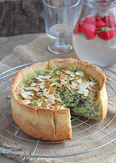 chard tart with Boursin, tarte salée blettes et Boursin aux poivres