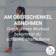 Du willst am Oberschenkel abnehmen und perfekte Beine bekommen? Wir zeigen dir, … You want to lose weight on the thigh and get perfect legs? We'll show you what to look out for in training to build lean muscles in the lower body. Fitness Workouts, Planet Fitness Workout, Fitness Goals, Fun Workouts, At Home Workouts, Fitness Motivation, Health Fitness, Fitness Hacks, Fitness Planner