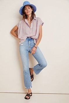 MOTHER The Hustler High-Rise Straight Ankle Jeans #Anthropologie #fashion #fashionista #fashionoutfits #fashiontrends # #fashionwomen #fallfashion #fallstyle #Sponsored, #Promotion, #PaidAd, #ad, #affiliatelink Wear Test, Types Of Women, Ankle Jeans, Flare Jeans, Plus Size Women, Fashion Outfits, Fashion Trends, Mom Jeans, Women's Jeans
