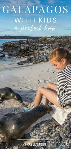 Planning a trip to the Galapagos Islands with your Kids? Check out these great tips to help plan your next family vacation and get the most out of exploring a #bucketlist destination like the #galapagosislands #ecuador #southamerica #travelwithkids