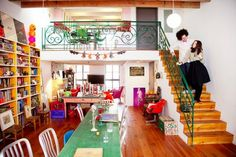 happy color, eclectic