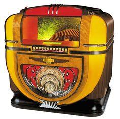 The R-91 Tabletop Rock-Ola jukebox. #music #jukebox #vintageaudio http://www.pinterest.com/TheHitman14/ghosts-of-audios-past/