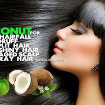 Coconut for Hairfall, Dandruff, Baldness, Gray Hair, Dry Spl...