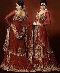 D3602 Pakistani Wedding Bridal Lehnga Designs, Gharara Designers Pakistan, Pakistani Gharara USA Canada Bridal Wear