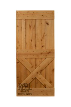 Barn door for pantry? Real Sliding Hardware - Rustic Alder Barn Door, $560.00 (http://www.realslidinghardware.com/rustic-alder-barn-door/)f