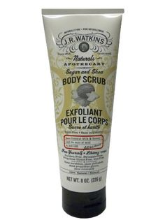 Amazon.com: J R Watkins Coconut Sugar and Shea Body Scrub, 8 Ounce -- 1 each.: Health & Personal Care