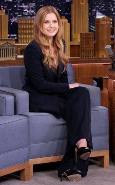 Amy Adams from The Big Picture: Today's Hot Pics The actress looks flawless during an appearance on The Tonight Show in NYC.