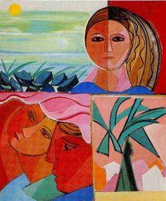 Bilderesultat for cicero dias Art And Illustration, Illustrations, Tableaux D'inspiration, Classical Art, Portraits, American Art, Art Forms, Art For Kids, Aurora Sleeping Beauty