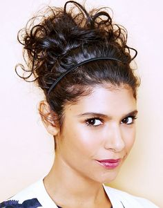 The Chic, Curly Updo via @byrdiebeauty
