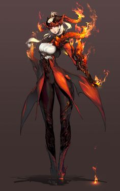 Character Design - Characters & Art - Blade & Soul