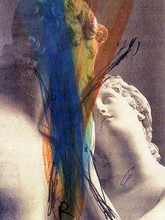 ~ Arnulf Rainer ~ Austrian artist, 1929: Attesa