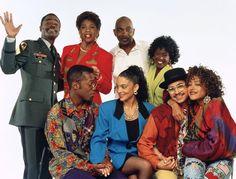 Still of Jasmine Guy, Darryl M. Bell, Charnele Brown, Kadeem Hardison, Dawnn Lewis, Lou Myers, Cree Summer and Glynn Turman in A Different World (1987)