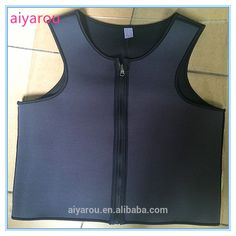 Check out this product on Alibaba.com APP 2016 fashion factory wholesale Both wear waist trainer corset man hot shapers sweat zipper neoprene rubber vest corset
