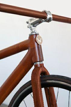 Teak Bike WoodenCycle
