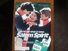 Vintage Magazine Ad Salem cigarettes