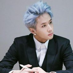 Ravi is so handsome with this suit and this hair