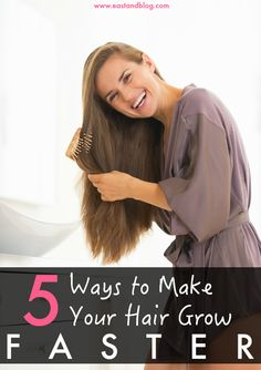 Want your hair to grow faster? Here are 5 ways that I have tested to make my hair grow faster, including Viviscal, Pureology, Coconut Oil, and more.