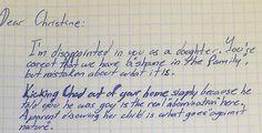 Avô escreve carta para sua filha que expulsou o próprio filho por ser gay | Razões para Acreditar