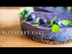 Blueberry Cake (vegan) ☆ ブルーベリーケーキの作り方 - YouTube