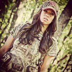 Girls hunt too... that'll be me.