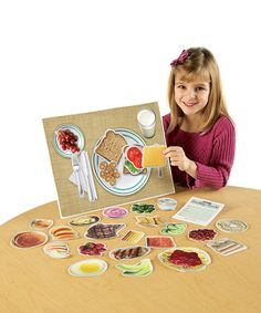 Take a look at this Magnetic Healthy Foods Set by Learning Resources on #zulily today!
