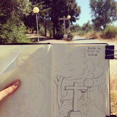 Ermida Urban sketching Urban Sketching, Container, Phone Cases, Sidewalk, Phone Case