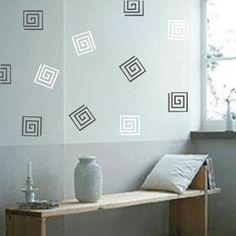 Vinyl Designs, Vinyl Wall Decals, Pattern Art, Decorating Your Home, Living Room, Elegant, Business, Simple, Link
