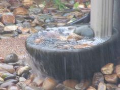 downspout with catching basin - Google Search