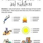 Conduction, Convection and Radiation Worksheet (with pictures) Science Worksheets, Printable Worksheets, Work Energy And Power, Learning Fractions, Family Tree Worksheet, Worksheet Generator, Solar Energy Facts, Math Answers, Hair