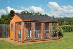 outside dog kennels - Google Search